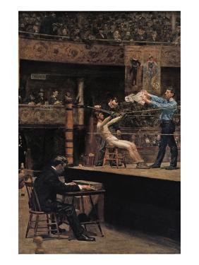 Between Rounds by Thomas Cowperthwait Eakins