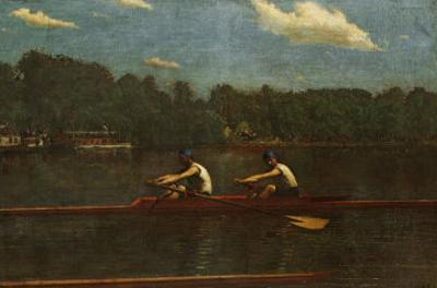 Biglin Brothers Racing by Thomas Cowperthwait Eakins
