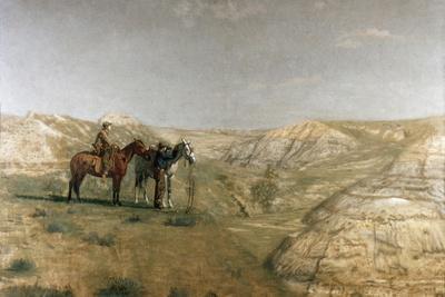 Cowboys in the Badlands, c.1887