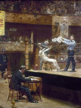 Eakins: Between Rounds by Thomas Cowperthwait Eakins