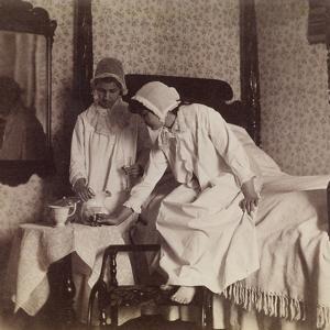 Miss Van Buren and Miss Willoughbly, c.1890 by Thomas Cowperthwait Eakins