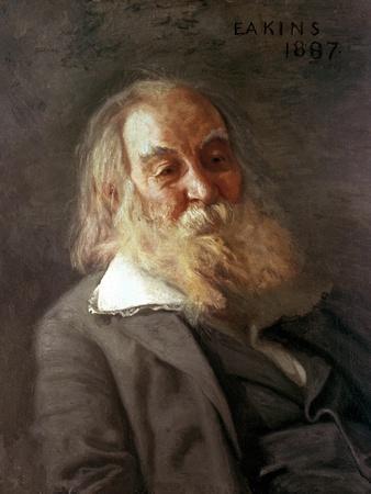 Portrait of Walt Whitman, 1887