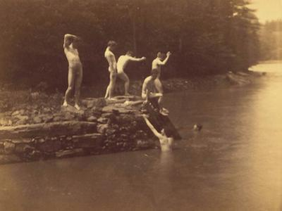 Study for the Swimming Hole, 1883