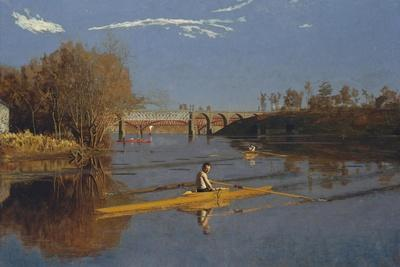 The Champion Single Sculls (Max Schmitt in a Single Scull), 1871
