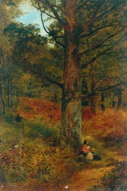 Path Through The Wood, 1857 by Thomas Creswick