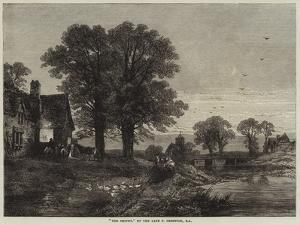 The Smithy by Thomas Creswick