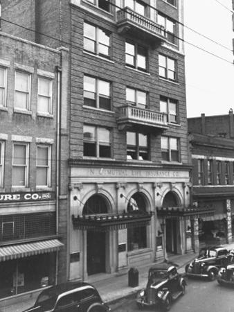 A View Showing the Exterior of the North Carolina Mutual Life Insurance Co