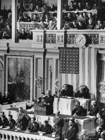 President Franklin D. Roosevelt at State of the Union Address, What It Would Take to Win the War