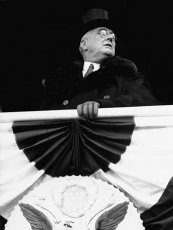 President Franklin D. Roosevelt During His Inauguration