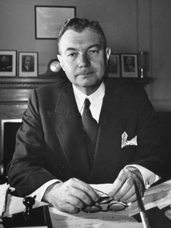 US Assisstant Attorney General Robert H. Jackson by Thomas D. Mcavoy