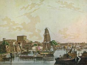 Calcutta, 1788 by Thomas Daniell
