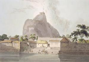 Fort of Trichinopoly, From 'Oriental Scenery: Twenty Four Views in Hindoostan' by Thomas Daniell