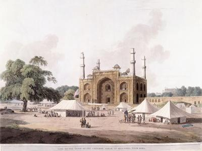 Gate of the Tomb of the Emperor Akbar
