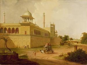 Jami Masjid, Delhi, 1811 by Thomas Daniell