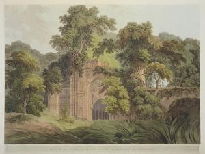 Ruins of the Ancient City of Gour, Formerly on the Banks of the River Ganges, from 'Oriental… by Thomas Daniell