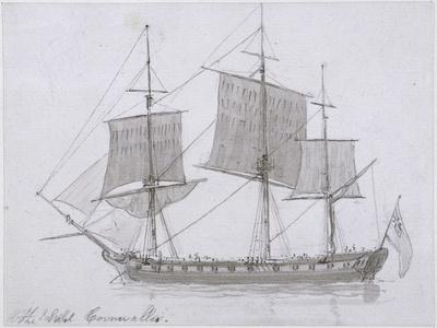 The Earl Cornwallis, C.1786-94 (Pen and Ink and Wash on Paper)