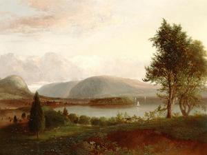 Denning's Point, Hudson River, C.1839 by Thomas Doughty