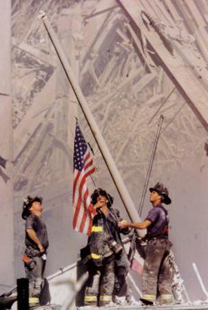 Ground Zero, NYFD by Thomas E. Franklin