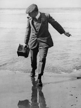 Thomas E. Grant in Biarritz, 1910 by Thomas E. & Horace Grant