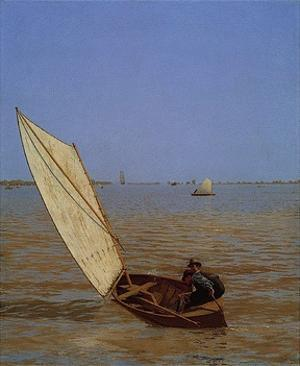 Starting Out After Rail, 1874 by Thomas Eakins