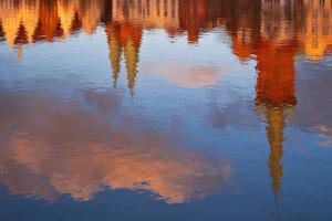 Germany, LŸbeck (City), Trave District, Water Reflection by Thomas Ebelt