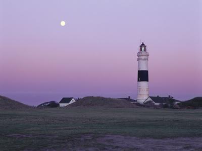 Germany, Schleswig-Holstein, Kampen, Lighthouse, Evening Mood
