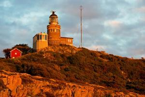 Lighthouse in the Nature Conservation Reserve Kullaberg, Scania, South of Sweden by Thomas Ebelt