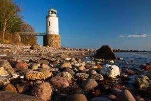 Lighthouse Taksensand, Alsen Island, Denmark by Thomas Ebelt