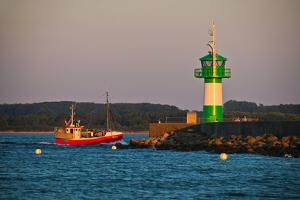 New Building of the Navigational Light of Breakwater in L?beck-Travem?nde by Thomas Ebelt