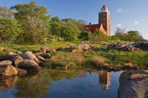 Scandinavia, Denmark, Svaneke, Svaneke Fyr, Lighthouse by Thomas Ebelt