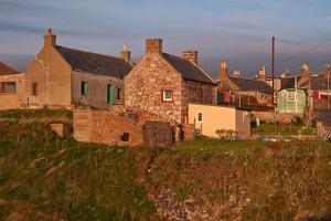 Scotland, Buchan Ness, Houses by Thomas Ebelt