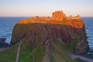 Scotland, Dunnottar Castle, Evening Light by Thomas Ebelt