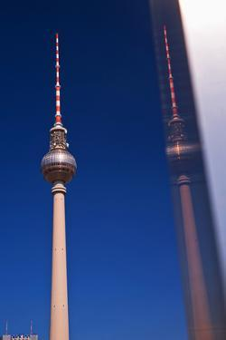 Television Tower at the Alexander Platz in Berlin by Thomas Ebelt