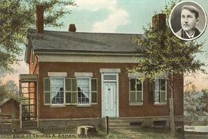 Thomas Edison Birthplace, Milan