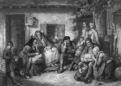 Settlers in Canada Observing the Sabbath
