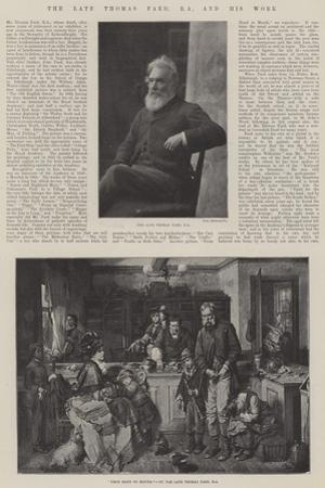 The Late Thomas Faed, RA, and His Work