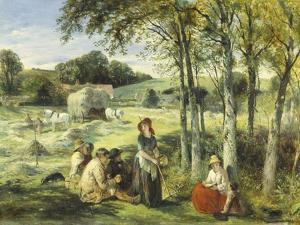 Rest from Haymaking by Thomas Falcon Marshall