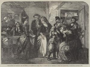 The Arrest of Louis XVI and His Family, at Varennes by Thomas Falcon Marshall