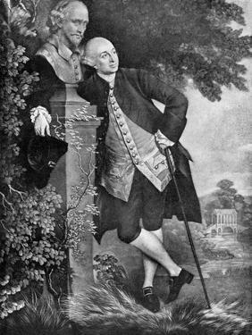David Garrick (1717-177), English Actor, Playwright, Theatre Manager and Producer, 1905 by Thomas Gainsborough