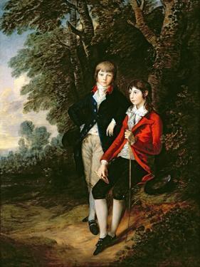Edward and Thomas Tomkinson, C.1784 by Thomas Gainsborough