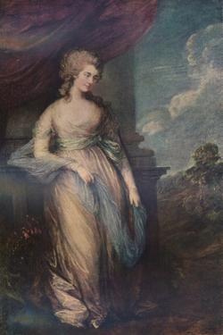 'Georgiana, Duchess of Devonshire', 1783, (1911) by Thomas Gainsborough