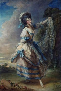 Giovanna Baccelli, 1782 by Thomas Gainsborough