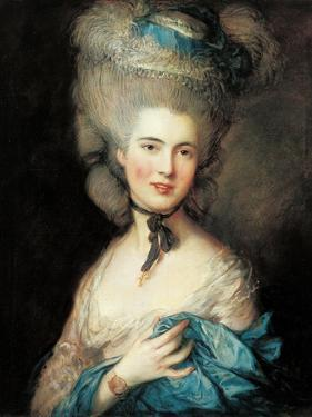 Lady in Blue by Thomas Gainsborough