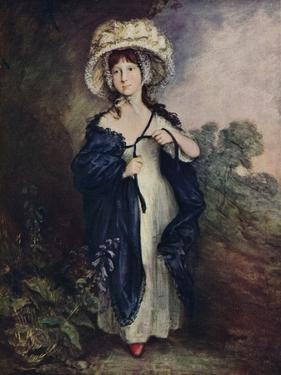Miss Elizabeth Haverfield, C1780 by Thomas Gainsborough