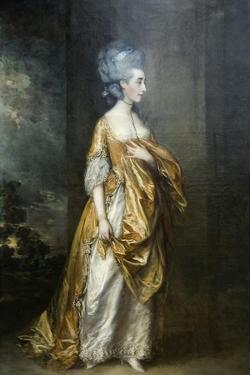 Mrs. Grace Dalrymple Portrait by Thomas Gainsborough