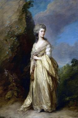 Mrs. Peter William Baker by Thomas Gainsborough