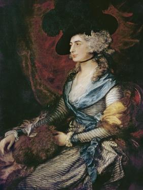 Mrs. Sarah Siddons by Thomas Gainsborough