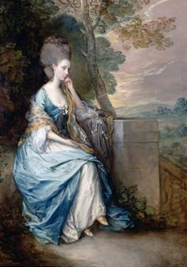 Portrait of Anne, Countess of Chesterfield by Thomas Gainsborough