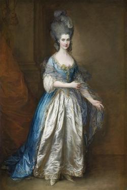 Portrait of Miss Read, Later Mrs William Villebois, Ca 1776 by Thomas Gainsborough