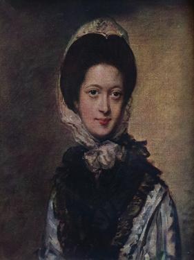 'Portrait of Miss Singleton', c1769, (1910) by Thomas Gainsborough